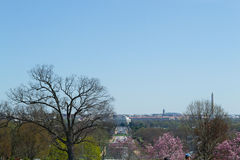 DC from Arlington Cemetery Royalty Free Stock Photos
