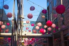 DC centrum miasta świąteczna atmosfera podczas czereśniowego okwitnięcia dorocznych wydarzeń w washington dc, usa Obrazy Stock