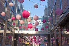 DC centrum miasta wiosny świąteczna atmosfera towarzyszy czereśniowego okwitnięcia wydarzenia w washington dc, usa Fotografia Royalty Free