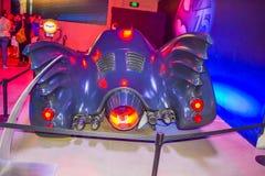 DC charakteru batmanu dekoracje Batman ustawiają osobistości, charakter Batman, lekki batman, Batman samolot, kostiumowy Batman,  Obraz Royalty Free