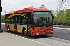 DC Circulator autobus w Waszyngton, DC Zdjęcie Stock