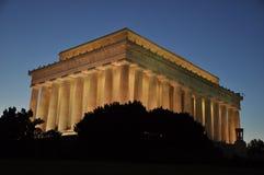 DC commémoratif de Lincoln Washington Images libres de droits