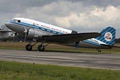 Dc 3 de lignes aériennes de KLM Royal Dutch, Image stock