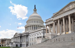 DC di Campidoglio Washington Fotografie Stock Libere da Diritti