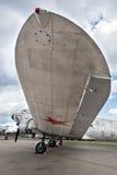 dc douglas för 3 flygplan vinge Arkivbild