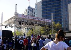 DC Emancipation Day Celebration Royalty Free Stock Image