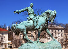 DC för general Phil Sheridan Statue Sheridan Circle Washington arkivfoton
