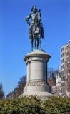 DC för general Winfield Scott Statue Scott Circle Washington Royaltyfri Fotografi