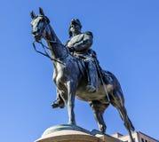 DC för general Winfield Scott Statue Scott Circle Washington Arkivfoto