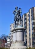 DC för general Winfield Scott Statue Washington Arkivfoton