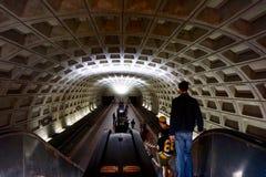 DC för tunnelbanastation Arkivbild