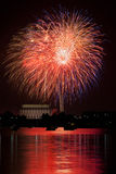 DC fireworks Stock Photo