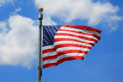 DC Flag Stock Image
