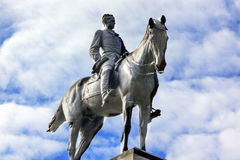 DC för general Sherman Civil War Memorial Washington Royaltyfri Foto