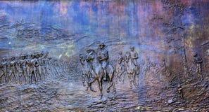 DC för general Sherman Civil War Memorial Washington Royaltyfri Bild