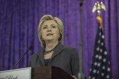 DC: Hillary Clinton czerni Women's agendy rocznika sympozjon Fotografia Stock