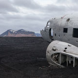 DC3 in Iceland Stock Images