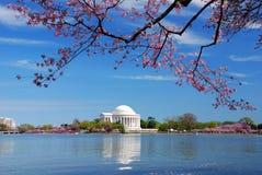 dc Jefferson pamiątkowy krajowy Thomas Washington Zdjęcia Stock