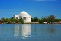 dc Jefferson pamiątkowy krajowy Thomas Washington Zdjęcia Royalty Free