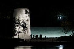 dc jr królewiątka luther oknówki pomnik Washington fotografia royalty free