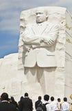 dc jr królewiątka luther oknówki zabytek Washington obraz stock