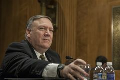 Free DC: MIKE POMPEO SECRETARY OF STATE CONFIRMATION HEARING Royalty Free Stock Image - 114317276