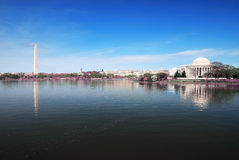 dc-panorama washington Arkivfoton