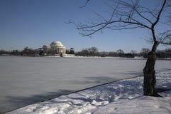 dc pomnik Jefferson Washington Fotografia Stock