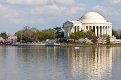 dc pomnik Jefferson Washington zdjęcie stock