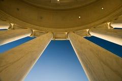 dc pomnik Jefferson Washington Zdjęcia Stock