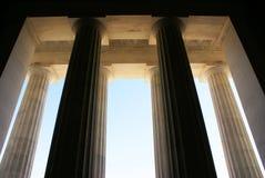 dc pomnik Lincoln usa Washington Fotografia Royalty Free
