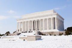dc pomnik Lincoln Washington Zdjęcie Stock