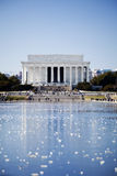 dc pomnik Lincoln Washington Zdjęcia Royalty Free