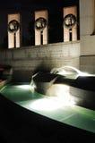 dc pomnikowy noc Washington wwii Fotografia Stock