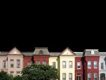 DC Rooftops 2 stock photos