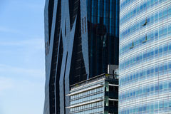 DC Tower And Tech Gate Tower Skyscrapers In Vienna Stock Image