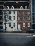DC Twin Houses Stock Photo