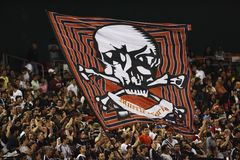 DC United v. Chicago Fire 5-8-08 Royalty Free Stock Image