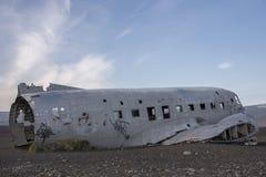 DC-3 USA marynarka wojenna, Iceland 3 Obrazy Stock