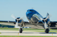 DC 3 Vintage Airline Aircraft Royalty Free Stock Images