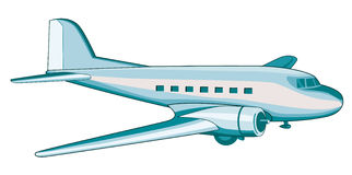 DC3 Airliner Stock Image