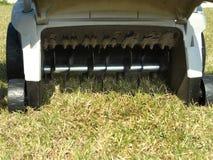 Déchaumeuse de pelouse Image libre de droits