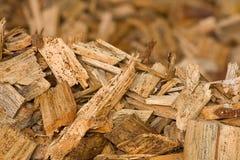 Déchets de bois Photos stock