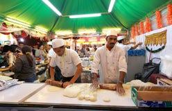 décimotercero comida 2013 justo de Macao Imagen de archivo