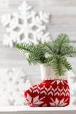 Décor de Noël. Photo libre de droits