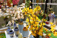 Décoration de fleur artificielle Photo stock