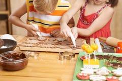 Décoration des biscuits Photographie stock libre de droits
