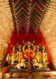 Dcoration of Durga pandel Royalty Free Stock Image