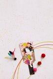 Décoration japonaise de nouvelle année Image libre de droits