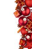 Décorations de Noël Images stock